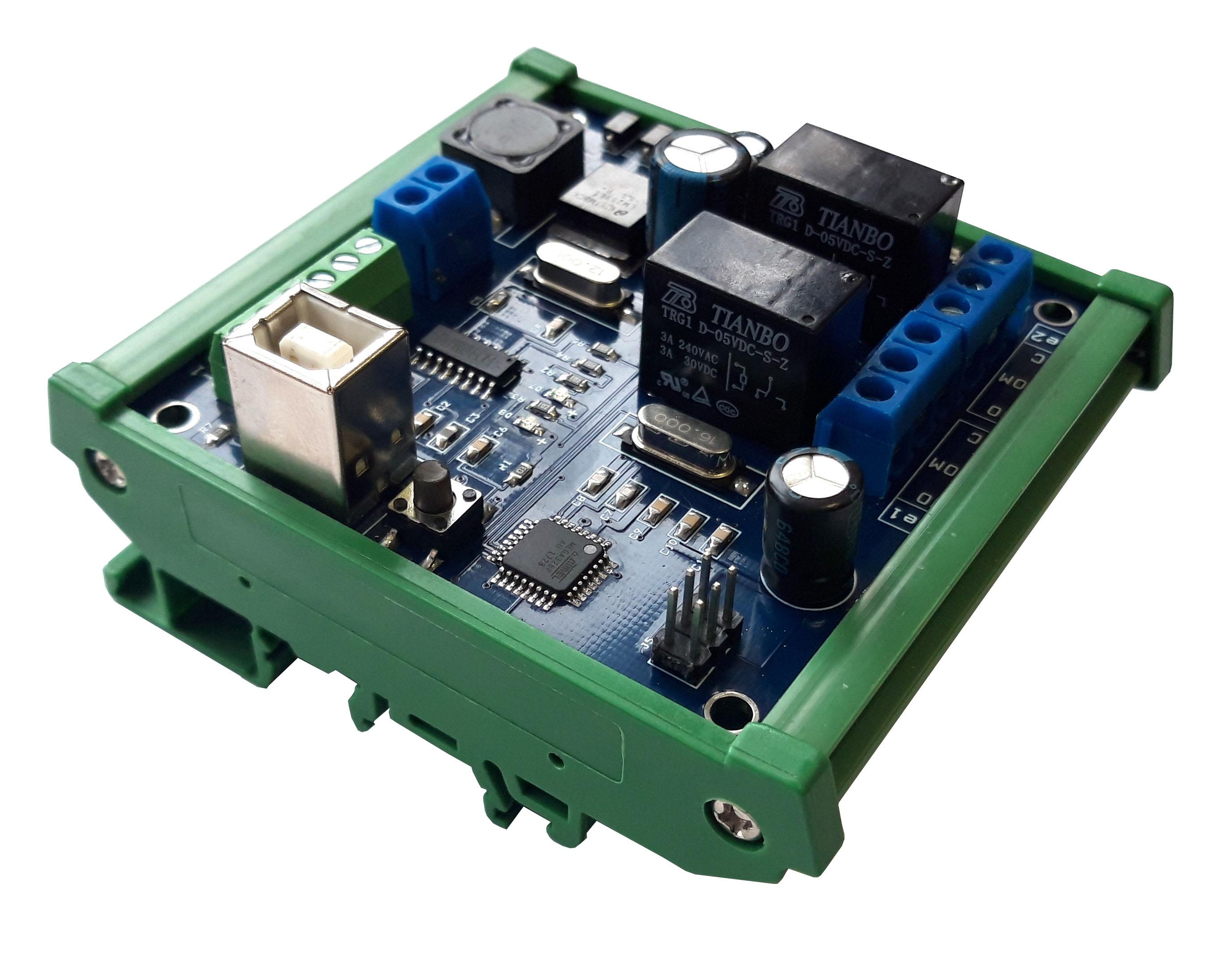 Контроллер на DIN рейку