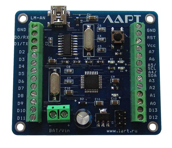 Arduino nano с винтовыми клеммами