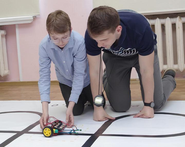 Финал Инженерного интерактивного конкурса-марафона «РоботСАМ 2.0»